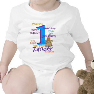 Personalized Birthday Rompers