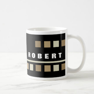 Personalized Black Mugs