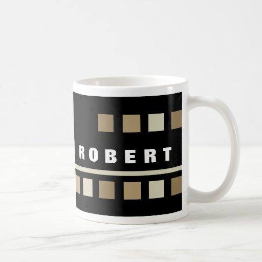 Personalized Black Mugs