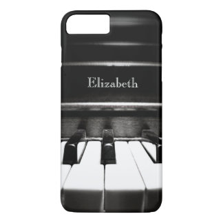 Personalized Black Piano iPhone 7 Plus Case