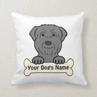 Personalized Black Russian Pillows