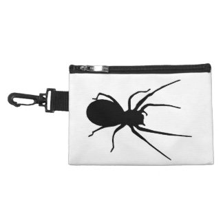 Personalized Black Spider Accessory Bag