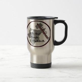 Personalized Blacksmith Travel Mug