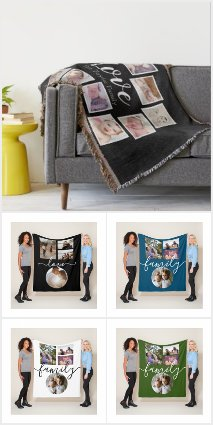 Personalized Blankets and Throws