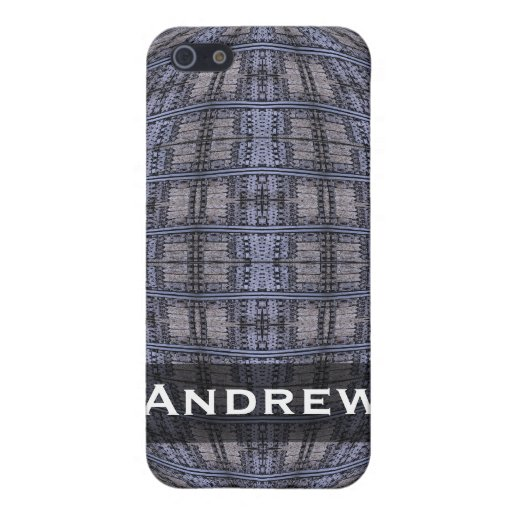 Personalized blue grey global abstract cases for iPhone 5