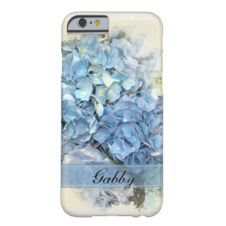 Personalized Blue Hydrangea iPhone 6 iPhone 6 Case