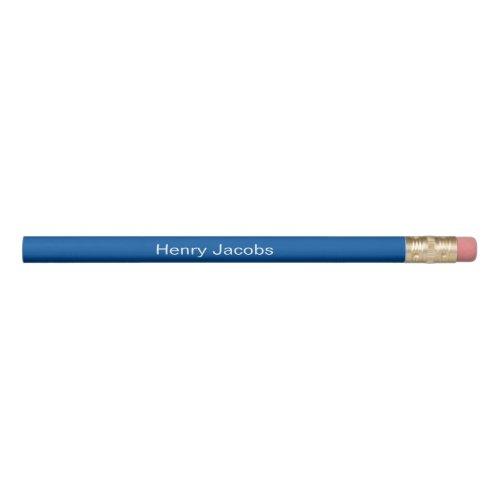 Personalized Blue Pencil
