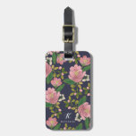Personalized   Blush Bouquet Bag Tag