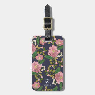Personalized | Blush Bouquet Bag Tag