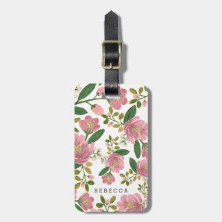 Personalized | Blush Bouquet Bag Tag