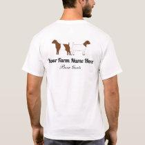 Personalized Boer Goat T-Shirt