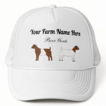 Personalized Boer Goats Trucker Hat