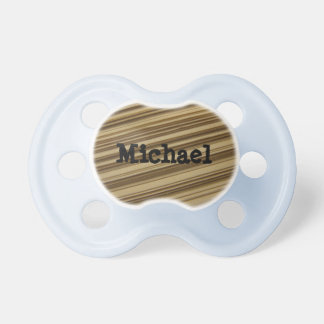 Personalized Book Pages Pacifier