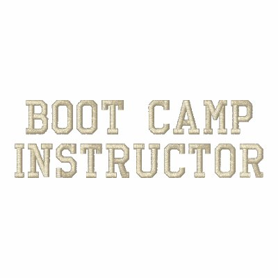 Personalized Boot Camp Instructor Jacket