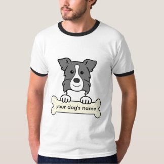 Personalized Border Collie T-Shirt