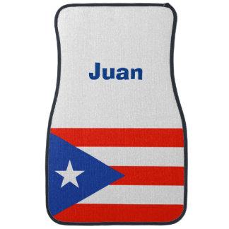 Personalized Boricua Bandera Puerto Rican 4Ana Car Mat