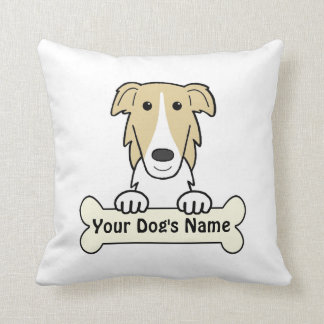 Personalized Borzoi Pillows