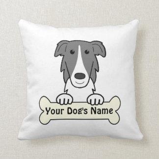 Personalized Borzoi Throw Pillows