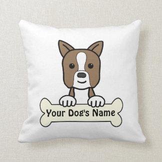 Personalized Boston Pillows