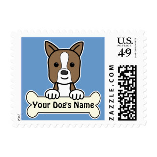 Personalized Boston Postage Stamp