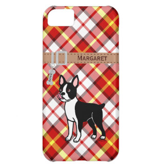 Personalized Boston Terrier Standing iPhone 5C Covers