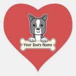 Personalized Boston Terrier Sticker
