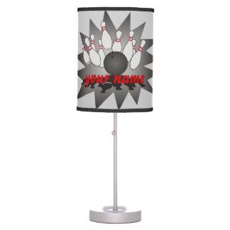 Personalized Bowling Desk Lamp