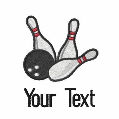 Personalized bowling shirt polo shirts zazzle for Custom embroidered polo shirts no minimum order