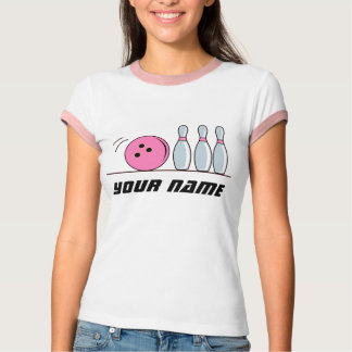 Personalized Bowling Tee Shirt