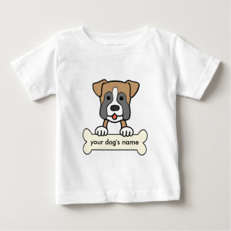 Personalized Boxer Baby T-Shirt