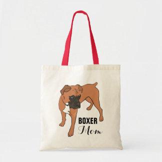 PERSONALIZED BOXER DOG TOTE BAG | ILLUSTRATION