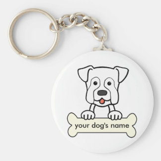 Personalized Boxer Keychain