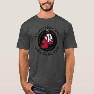 PERSONALIZED Boxing Gloves T-Shirt