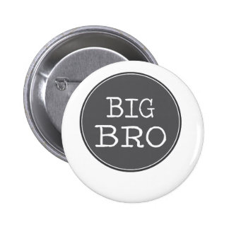 Personalized Boys Big Brother Gifts Buttons