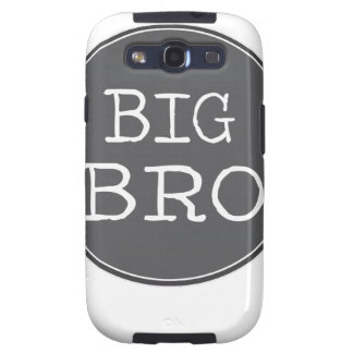 Personalized Boys Big Brother Gifts Samsung Galaxy SIII Cases