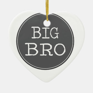 Personalized Boys Big Brother Gifts Ceramic Ornament