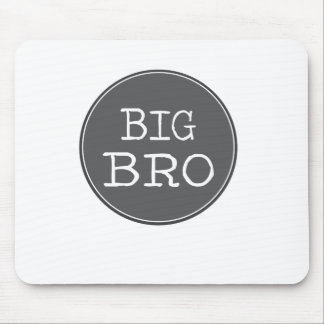 Personalized Boys Big Brother Gifts Mouse Pad