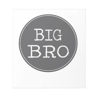 Personalized Boys Big Brother Gifts Note Pad