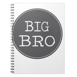 Personalized Boys Big Brother Gifts Notebook
