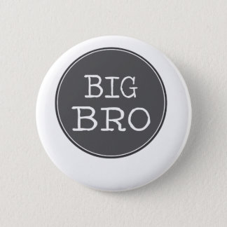 Personalized Boys Big Brother Gifts Pinback Button