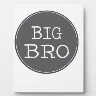 Personalized Boys Big Brother Gifts Plaque