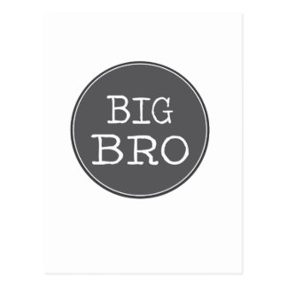 Personalized Boys Big Brother Gifts Postcard
