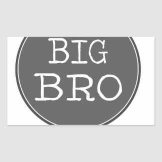 Personalized Boys Big Brother Gifts Rectangular Sticker