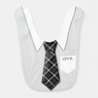 Personalized Boy's Suit Tie Funny Cute