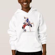 Personalized Boys Wrestlers On the Mat Sweatshirt