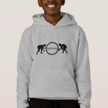 Personalized Boys Wrestling Sweatshirt