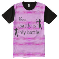Personalized Breast Cancer All-Over-Print Shirt