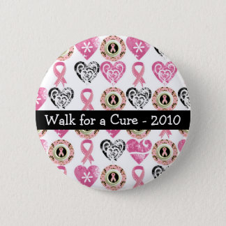 Personalized Breast Cancer Awareness Buttons