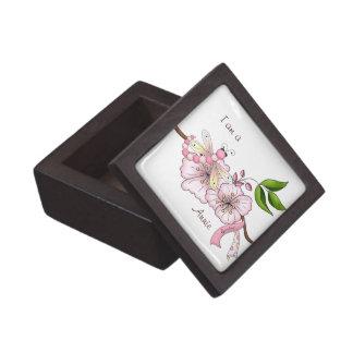 Personalized Breast Cancer Survivor Gift Box