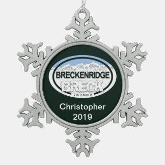 Personalized Breckenridge Colorado Ornament